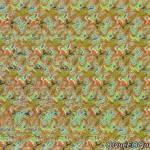 Imagem 3D de Pombos