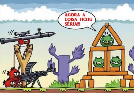 Angry Birds: Agora a Coisa Ficou Séria!